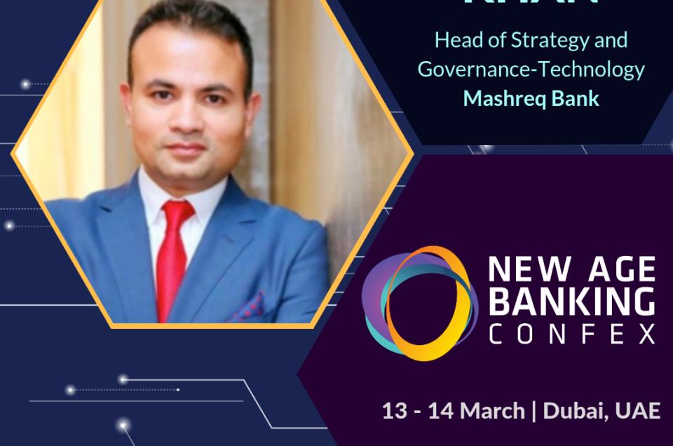 Jameel Khan at #NABConfex New Age Banking Confex, Dubai, UAE.