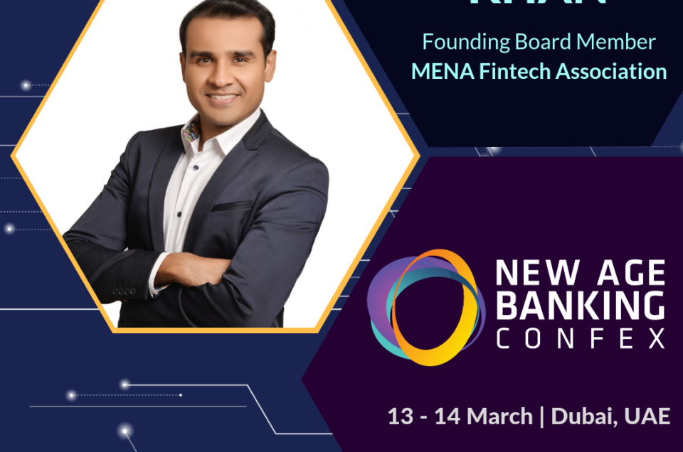 Nameer Khan at #NABConfex New Age Banking Confex, Dubai, UAE