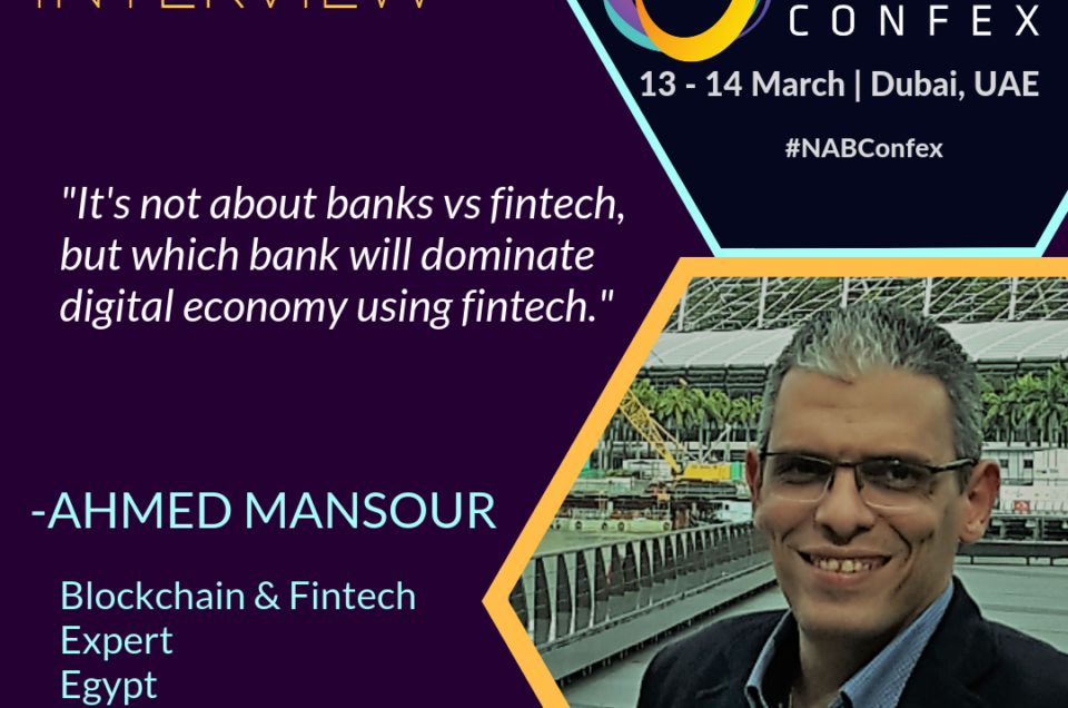 Ahmed Mansour Interview for NAB Confex