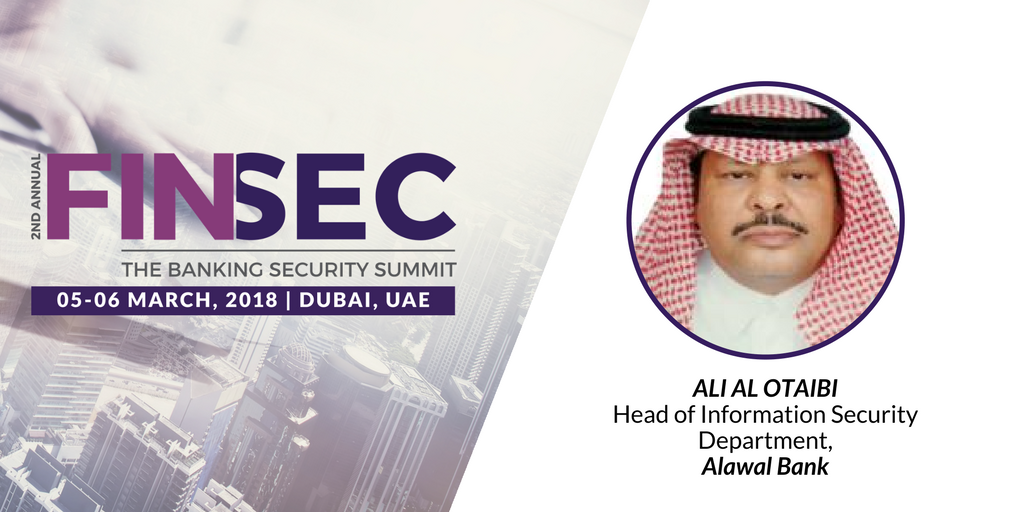 Ali Al Otaibi at FINSEC