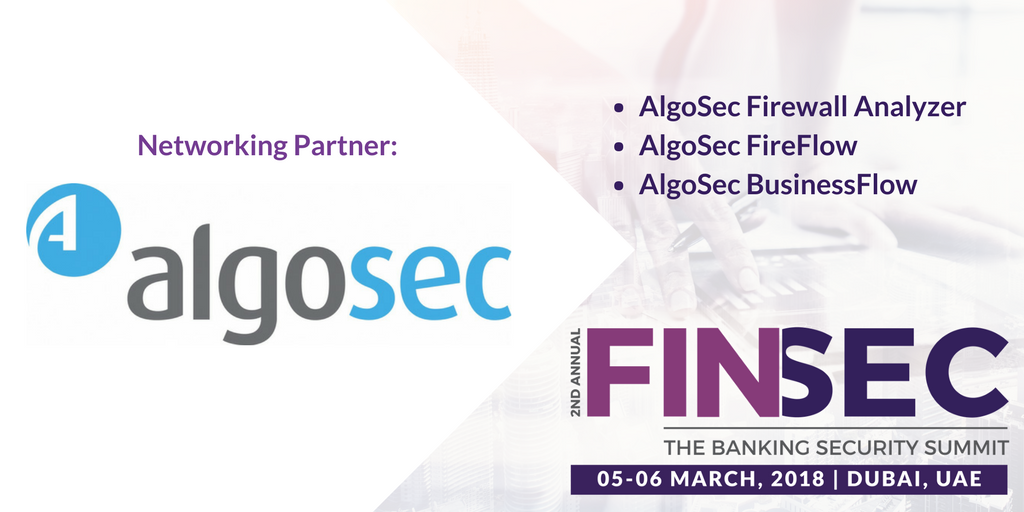 Algosec 2nd Annual FINSEC 2018