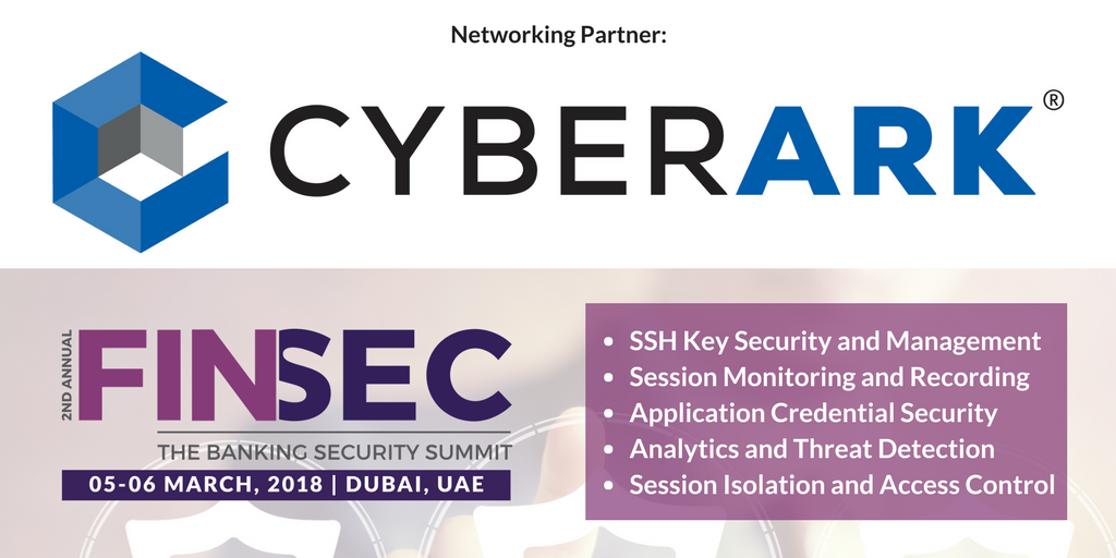Cyberark-2nd Annual FINSEC 2018