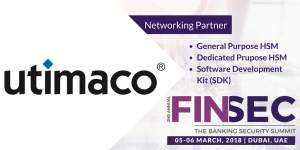 Utimaco-2nd Annual FINSEC 2018
