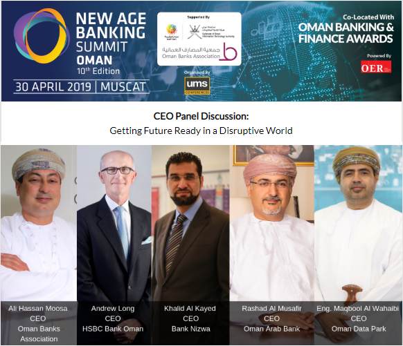 CEO Panle New Age Banking Summit Oman